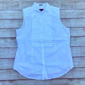 Talbots Button Down Shirt Size 12P